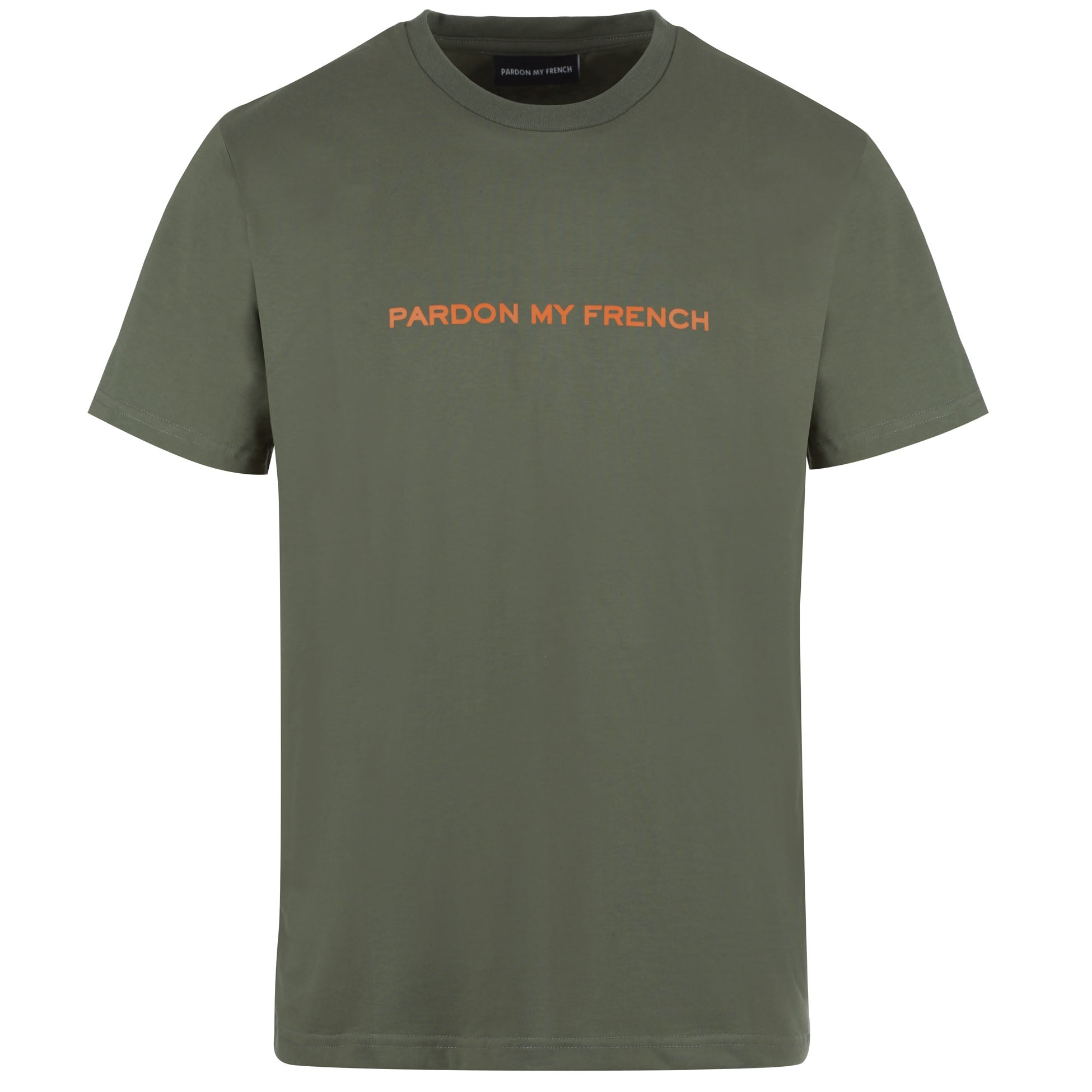 TSHIRT SIGNATURE MILITARY GREEN