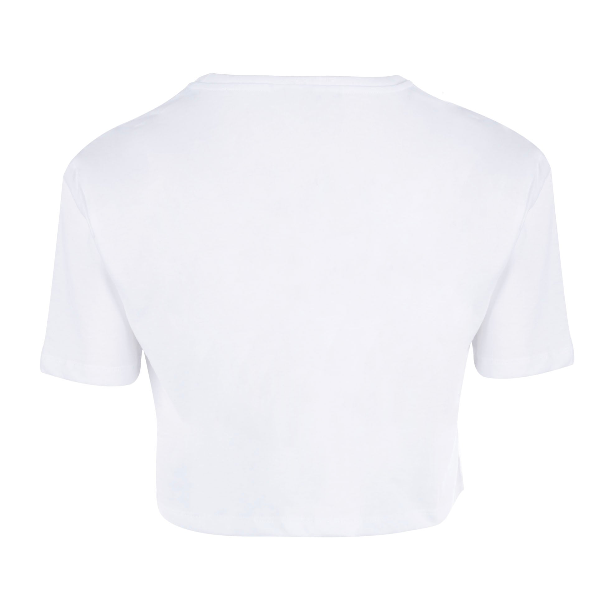 CROP TOP TSHIRT SIGNATURE PMF WHITE