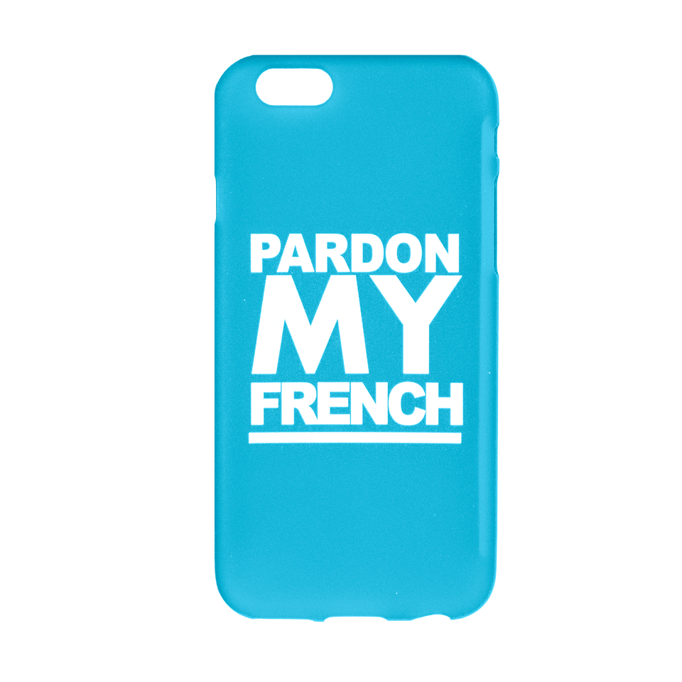 PMF IPHONE CASE LIGHT BLUE