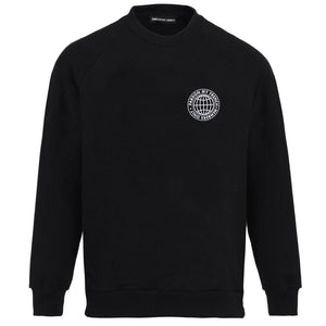 SMALL MEMBERS ONLY BLACK CREW NECK