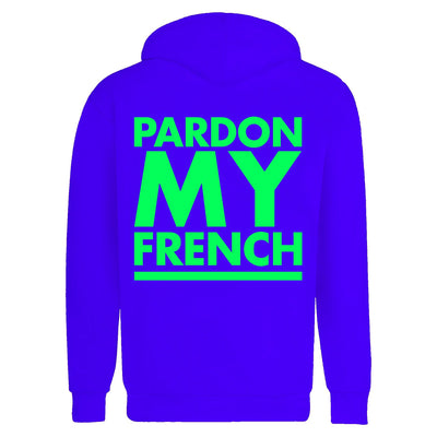 HOODIE PMF CLASSIC LOGO BLUE