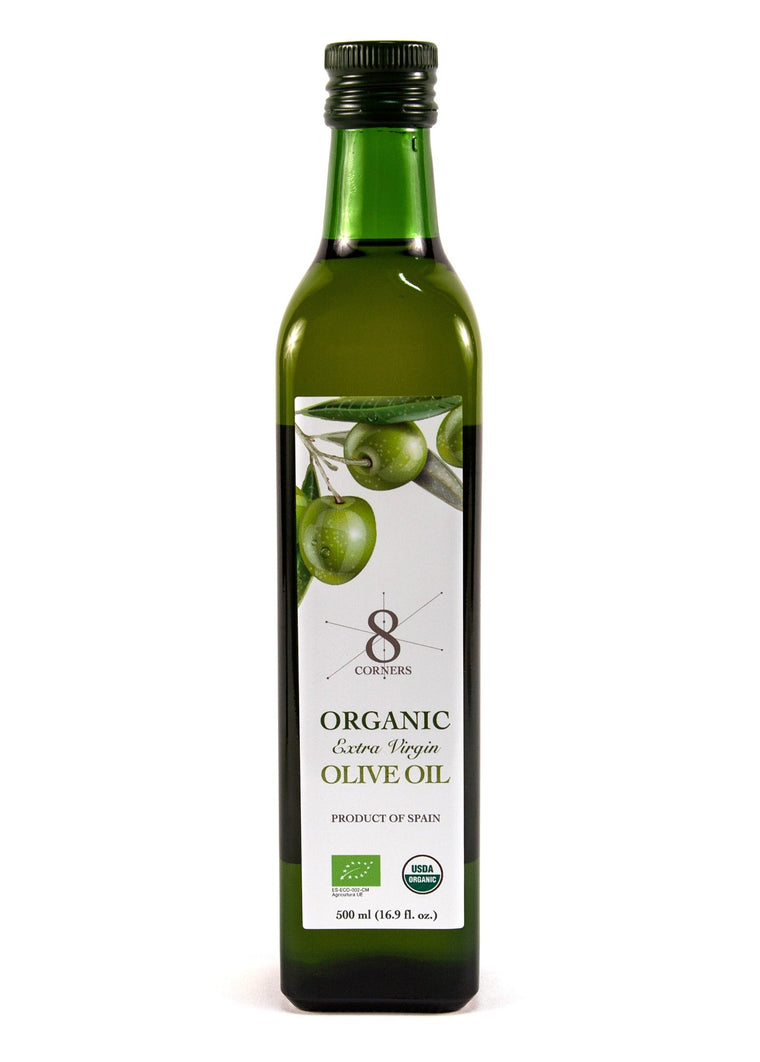 8 Corners Organic Extra Virgin Olive Oil - 500ml