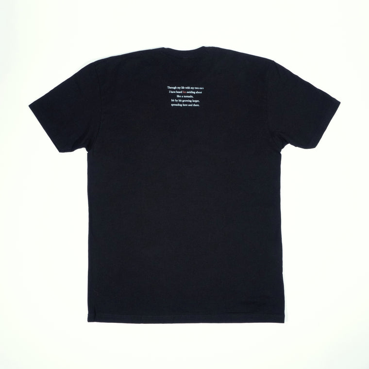 Poem T-Shirt - Black