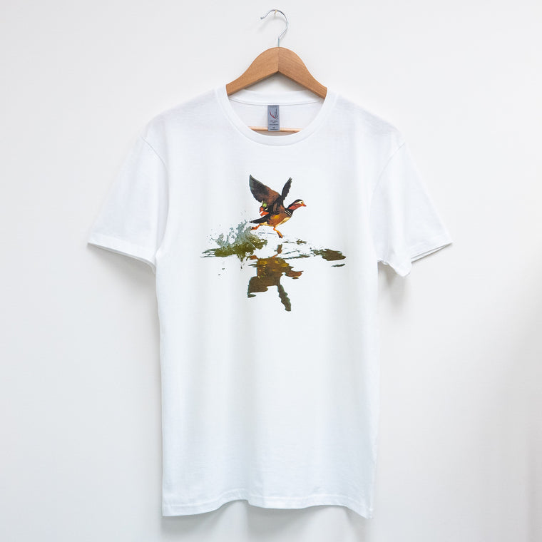 Custom T Shirt - Mandarin Duck