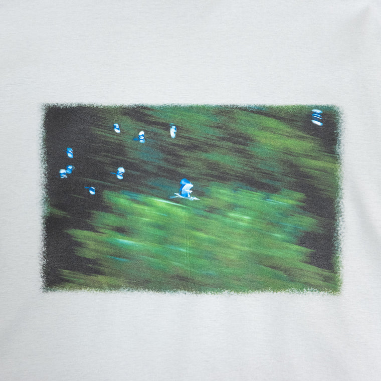 Custom T Shirt - Magpies Harassing Grey Heron