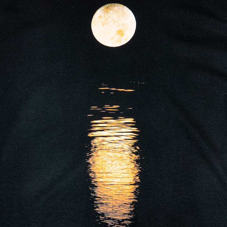 Custom T Shirt - Full Moon / Moonlight on Pond