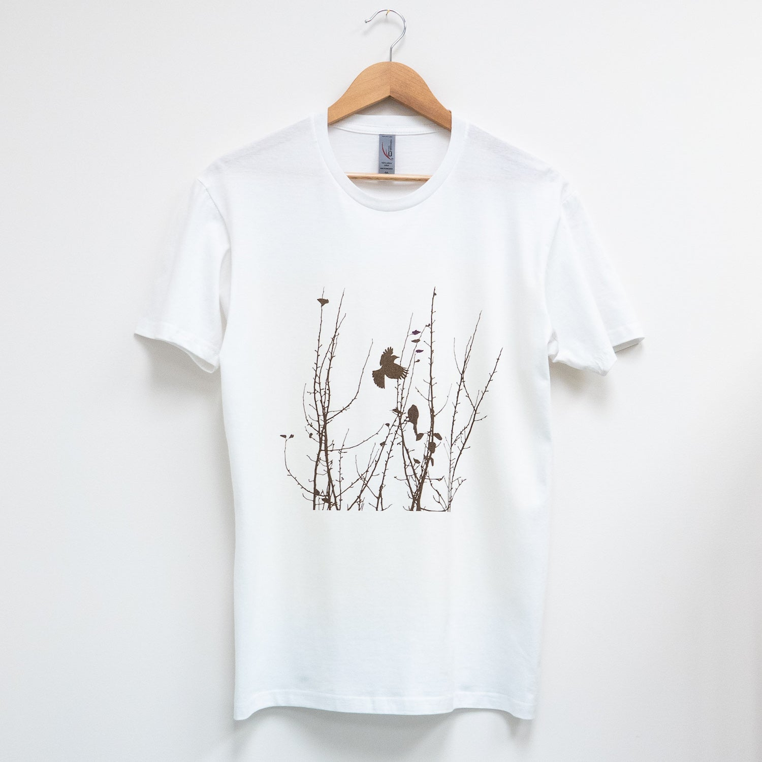 Custom T Shirt - Brown-eared Bulbuls