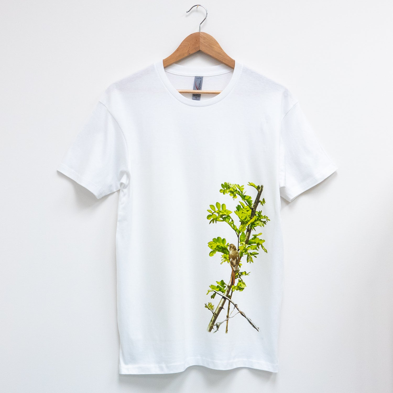 Custom T Shirt - Daurian Redstart