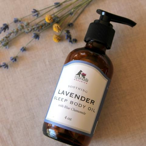 Lavender Sleep Body Oil