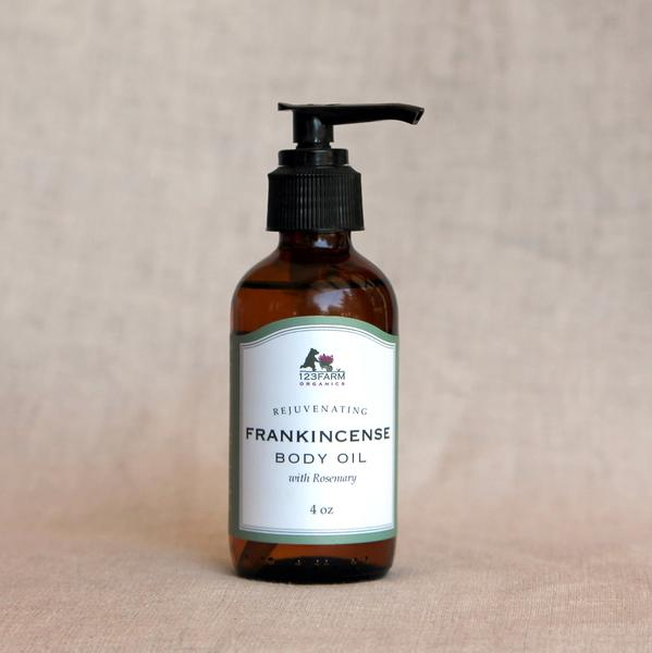 Frankincense & Rosemary Body Oil