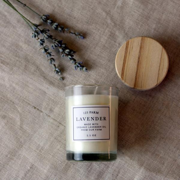 Lavender Candle Small 2.5 oz