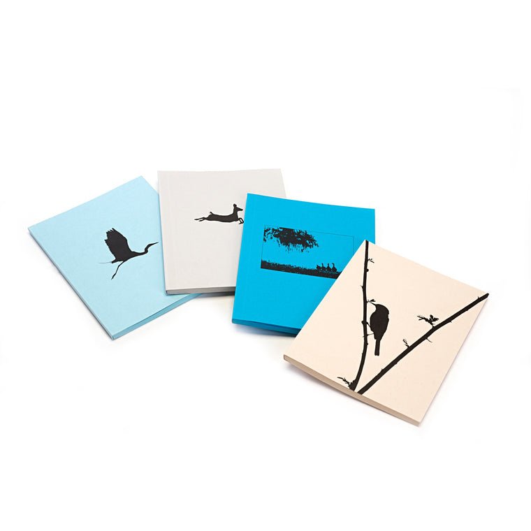 Silhouette Image Notebook (Bright Blue)