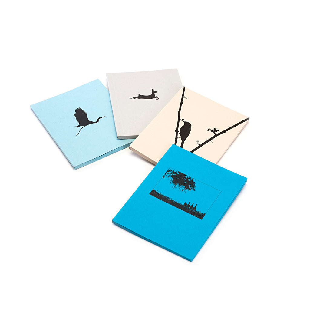 Silhouette Image Notebook (Blue)