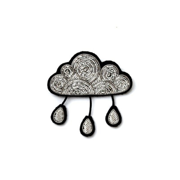 Cloud with Drops Pin Macon & Lesquoy