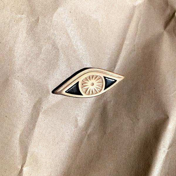 Eye Ojo Enamel Pin