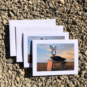 Playboy Marfa Greeting Card (2 Cards)