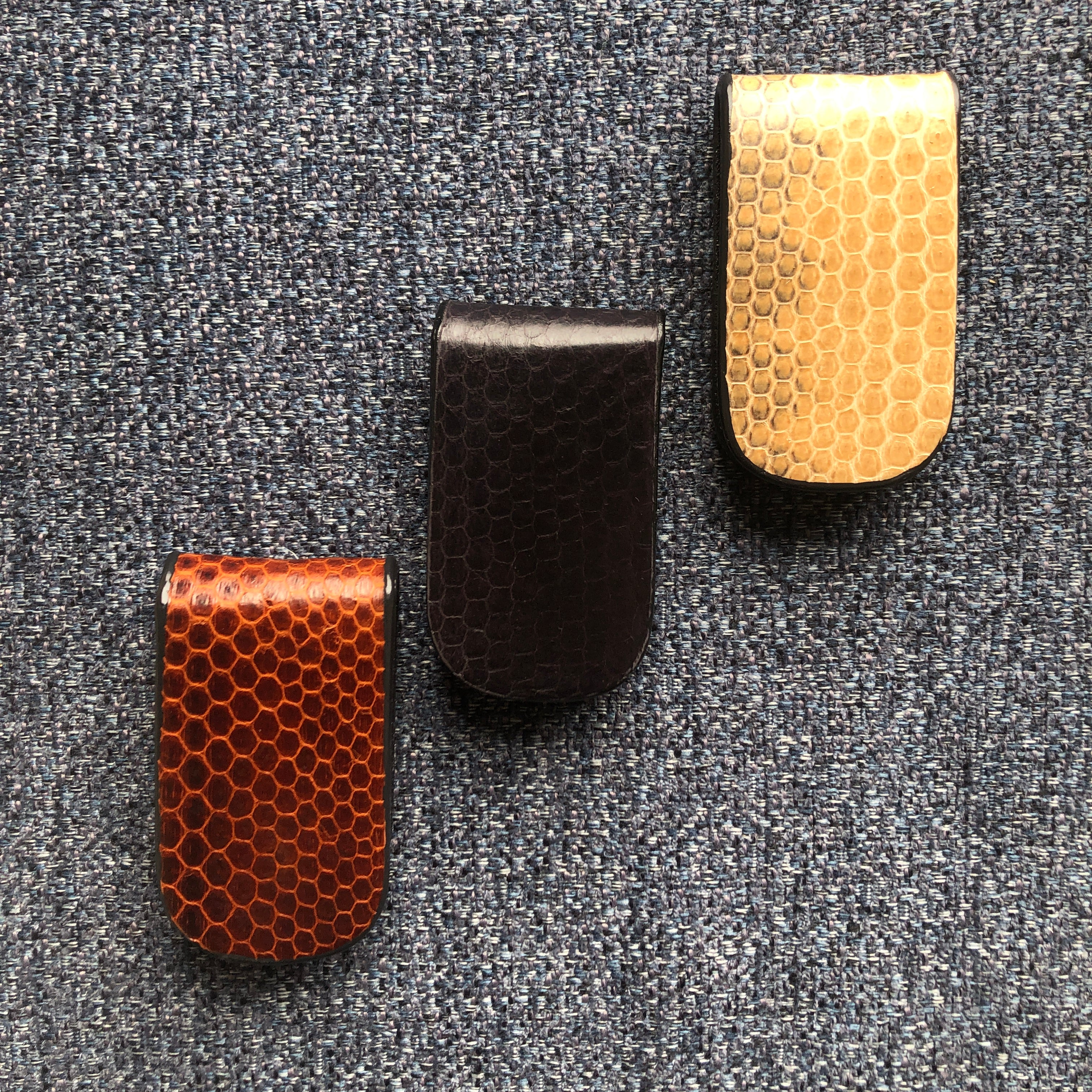 Snakeskin Money Clips