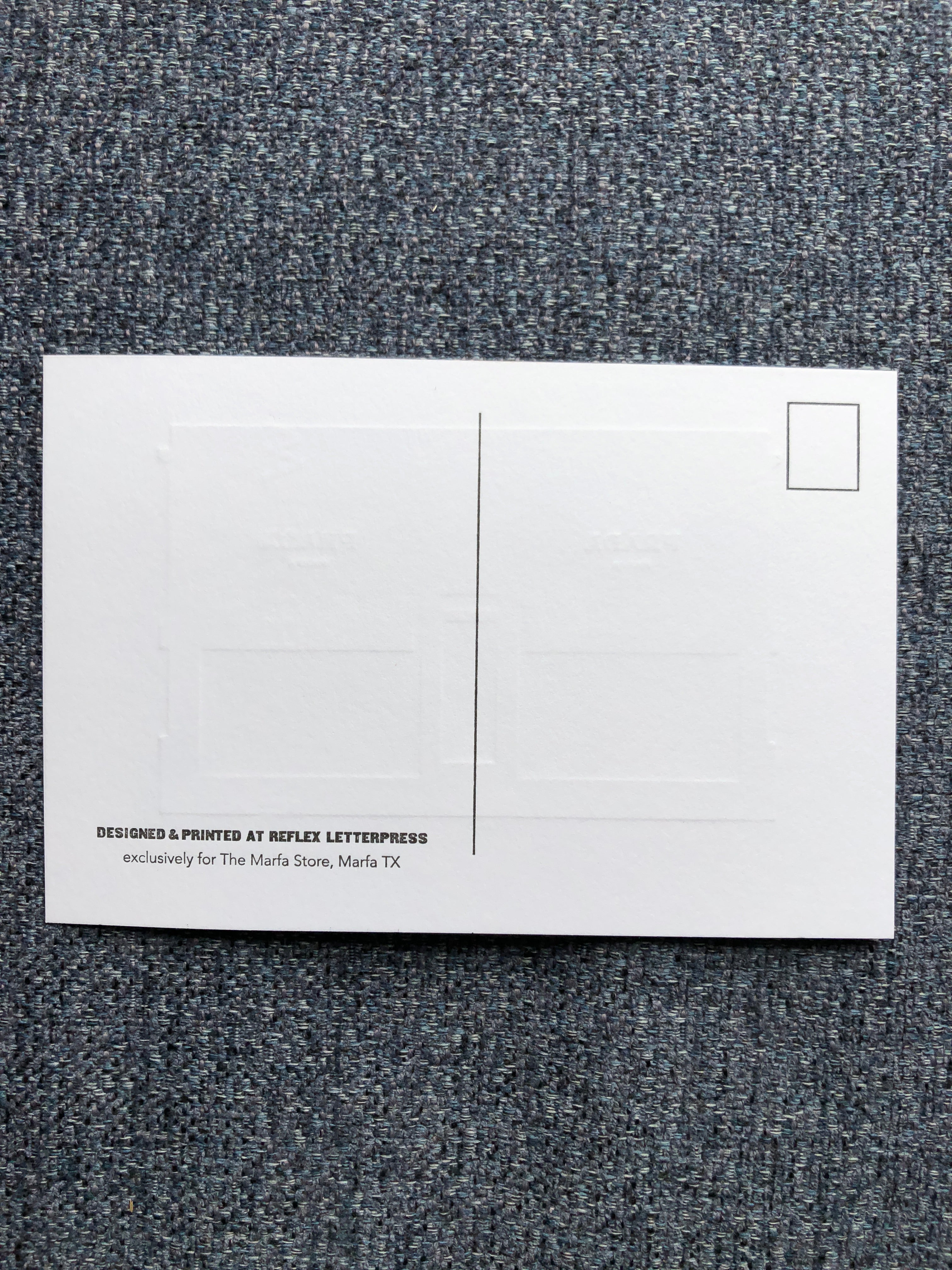 Embossed Prada Marfa Post Cards (4 Cards)