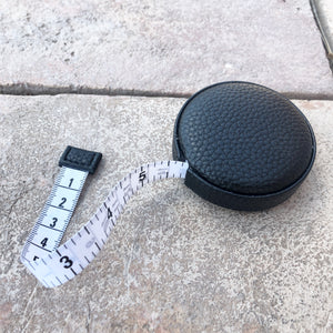 Black Leather Tape Measure