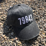 Faded Black 79843 Marfa Zip Code Hat
