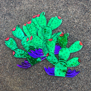 Large Prickly Pear Tin Ornament