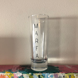 Vertical Marfa Tall Shot Glass