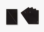 Black Minimalism Playing Cards