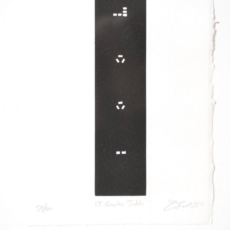 Ted Ollier Graphic Judd Print