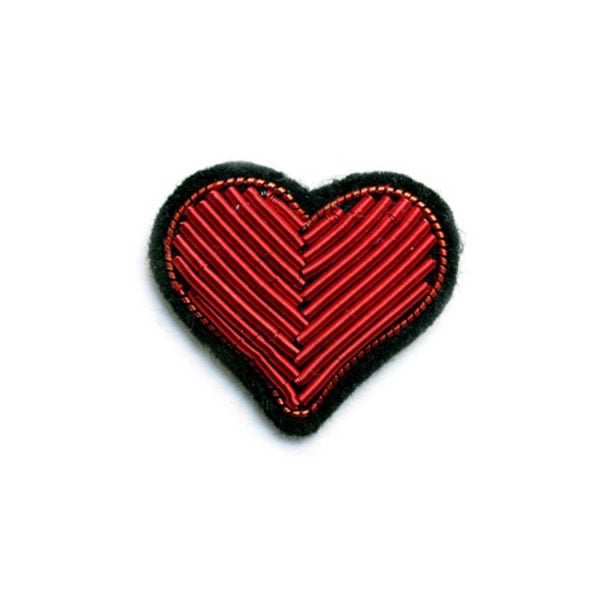 Red Heart Pin Macon & Lesquoy