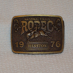 1976 Hesston Belt Buckle