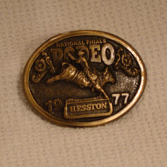 1977 Hesston Belt Buckle