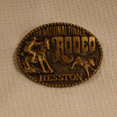1978 Hesston Belt Buckle