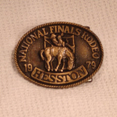 1979 Hesston Belt Buckle