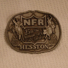1983 Hesston Belt Buckle