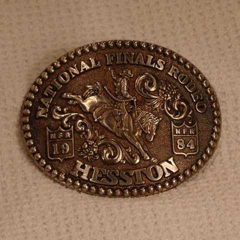 Hesston 1984 Large Belt Buckle