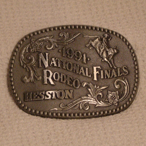Hesston 1991 Large Belt Buckle