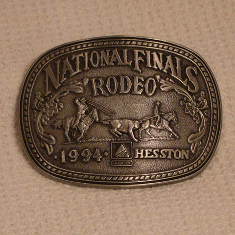 Hesston 1994 Large Belt Buckle
