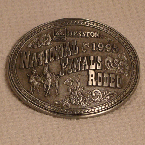 Hesston 1995 Large Belt Buckle