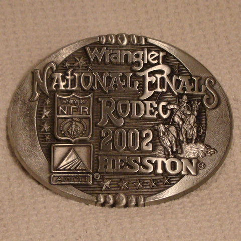 Hesston 2002 Large Belt Buckle