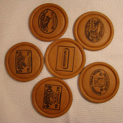 Hesston 1974 1975 1976 1977 1978 1979 Coaster Set