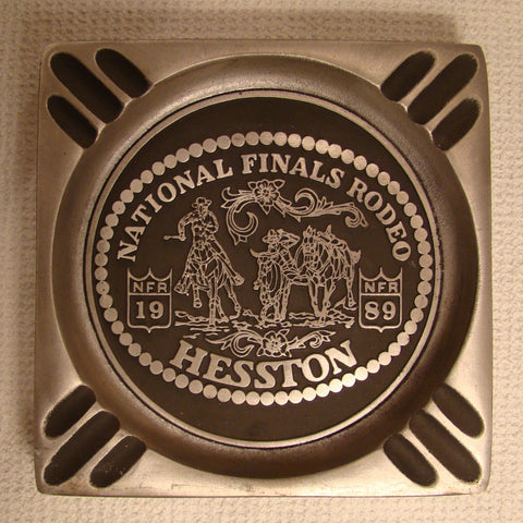 Hesston 1989 NFR Ash Tray