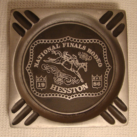 Hesston 1986 NFR Ash Tray