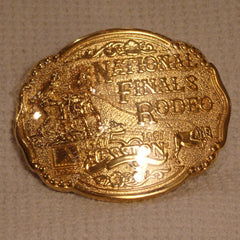1997 Gold Hesston Belt Buckle