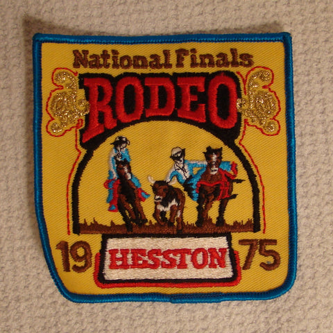 Hesston 1975 NFR Patch