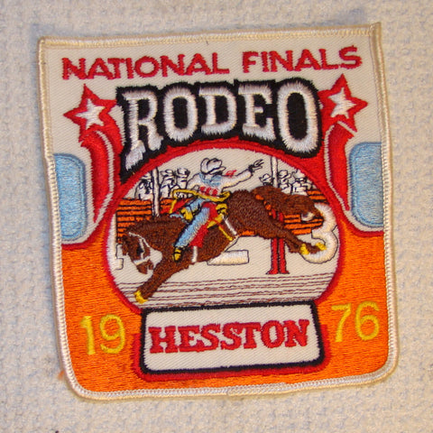 Hesston 1976 NFR Patch