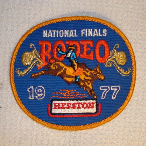 Hesston 1977 NFR Patch