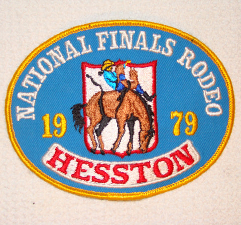 Hesston 1979 NFR Patch