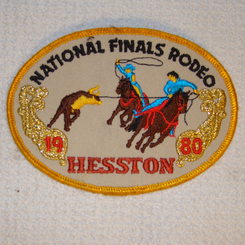 Hesston 1980 NFR Patch