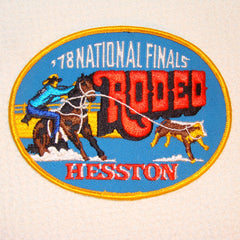 Hesston 1978 NFR Patch
