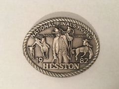Hesston 1982 Special Belt Buckle